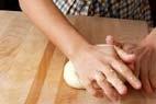 ミニカマンベールパンの作り方3