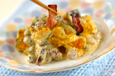 カボチャと豆のサラダの作り方3