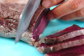 カツオのたたきトマトショウガドレッシングの作り方1