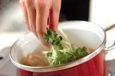 手羽元とレンコンのこっくり煮の作り方3