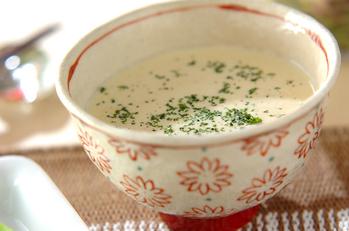 冷やしコーンポタージュスープ