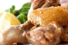 鶏のガーリックオイル煮