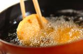 コロッケの卵とじ丼の作り方1