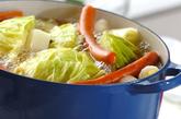 春キャベツのスープ煮の作り方2