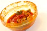 レンジでチキンのトマト煮の作り方2