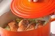 鮭と野菜の蒸し煮の作り方2