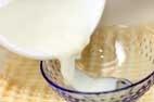 ミルク寒天ふたつの作り方3