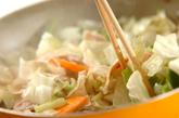 あんかけ野菜炒めの作り方2