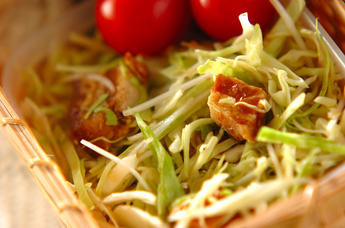 角煮サラダ