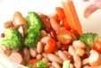 トマトと豆のサラダの作り方1