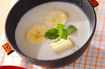 ホットココナッツミルク