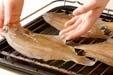 焼き干しカレイの作り方1