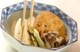 ひりょうずとタケノコの梅煮の作り方3