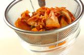 豚しゃぶキムチ素麺の作り方1
