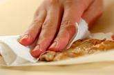 砂肝とピーマンの鶏油炒めの作り方2