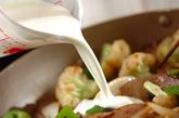 レバーのクリーム炒めの作り方3