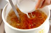 くずし豆腐のトロミ汁の作り方1