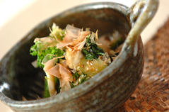 小松菜とシメジのお浸し
