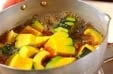 菊カボチャのサッパリ煮の作り方1