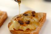 梨とピーナッツバターのサンドイッチの作り方1