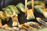餅のミニ春巻きの作り方4