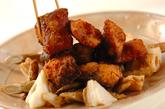 冷え予防・サバと根菜のニンニクショウガ漬け揚げの作り方2