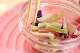カマボコのしばマヨ和えの作り方2