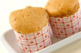 レンジできな粉蒸しパンの作り方2