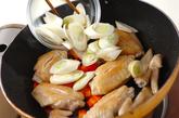 大豆と鶏肉のコラーゲン煮の作り方2
