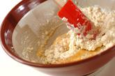 佃煮の白和えの作り方1