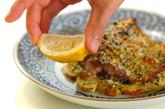 サバのカレー風味パン粉焼きの作り方3
