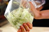 白菜コールスローの作り方1