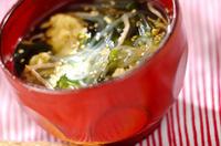 春雨入り卵スープ