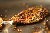 イワシのゴマ焼きの作り方3