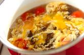 もずくと卵のスープの作り方2