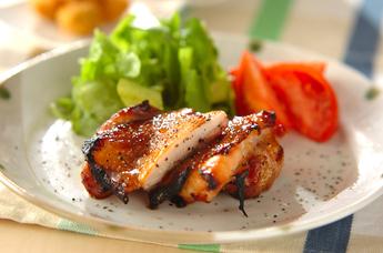 鶏肉のハニーペッパー焼き