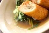 青菜と揚げ物のサッと煮