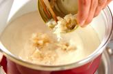 豆乳ホタテ春雨の作り方2