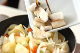 タラとジャガのこっくりみそ煮込みの作り方3