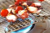 炙りタコとトマトのマリネの作り方1