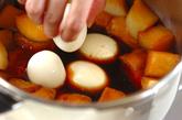 豚の角煮+大根と煮卵の作り方5