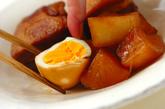 豚の角煮+大根と煮卵の作り方6