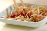 レンジで豚のショウガ焼きの作り方2