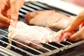 鶏のおろしダレがけの作り方1