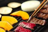 手作りタレ焼き肉の作り方2