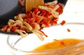 春野菜の卵とじ丼の作り方5