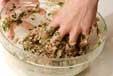 シャキシャキ餃子の作り方1