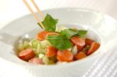 セロリのホットサラダの作り方2