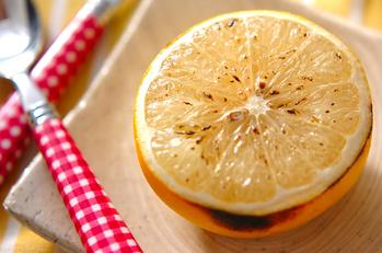グレープフルーツのオーブン焼き