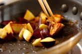 サツマイモのシュガーココナッツの作り方2
